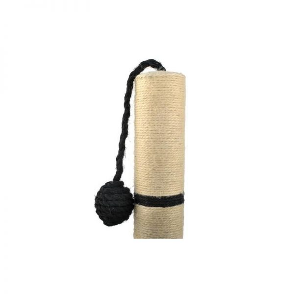 ZOOSHOP.ONLINE - Интернет-магазин зоотоваров - Когтеточка Vangaloo 45 см чёрного цвета