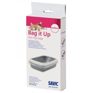 ZOOSHOP.ONLINE - Интернет-магазин зоотоваров - Гигиенические мешки для туалетов Savic Bag it Up Medium
