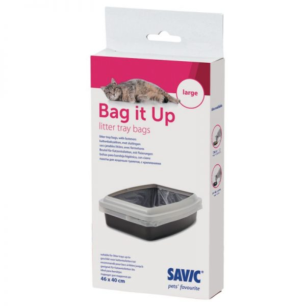 ZOOSHOP.ONLINE - Zoopreču internetveikals - Higiēniskie tualetes maisi Savic Bag it Up Large