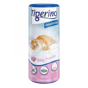 ZOOSHOP.ONLINE - Zoopreču internetveikals - Dezodorants kaķu tualetēm Tigerino Baby Powder