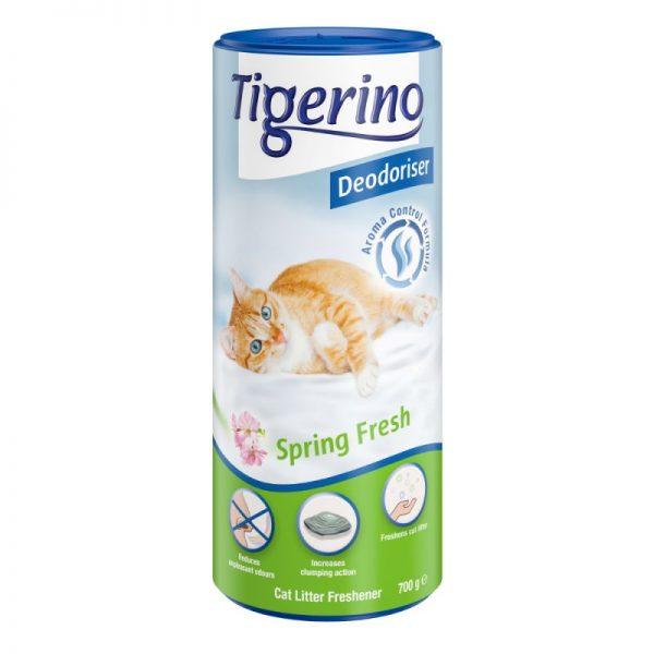 ZOOSHOP.ONLINE - Zoopreču internetveikals - Dezodorants kaķu tualetēm Tigerino Spring fresh