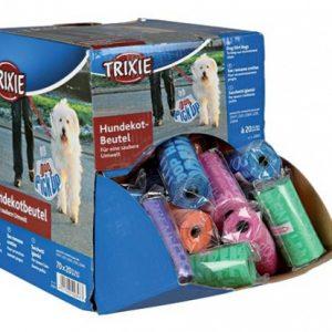 ZOOSHOP.ONLINE - Zoopreču internetveikals - Trixie maisiņi atkritumu savākšanai 1 rullis x 20 maisiņi