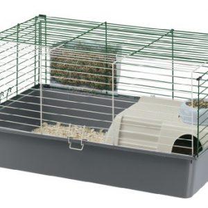 ZOOSHOP.ONLINE - Zoopreču internetveikals - Ferplast Cavie 80 - būris jūrascūciņām 77 x 48 x 42