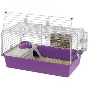 ZOOSHOP.ONLINE - Интернет-магазин зоотоваров - Ferplast Cavie 80 клетка для морской свинок 77 x 48 x 42 см