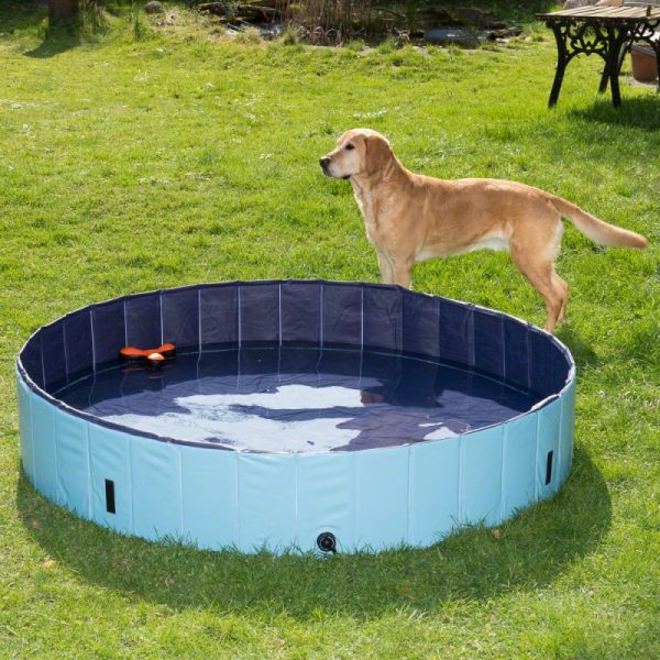 ZOOSHOP.ONLINE - Zoopreču internetveikals - Baseins suņiem Dog Pool Keep Cool 160 x 30