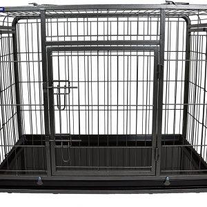ZOOSHOP.ONLINE - Zoopreču internetveikals - Suņu būris ar noņemamiem riteņiem, izmērs M