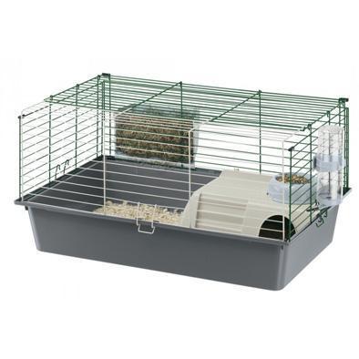 ZOOSHOP.ONLINE - Интернет-магазин зоотоваров - Ferplast Cavie 80 - клетка для морских свинок 77 x 48 x 42 см