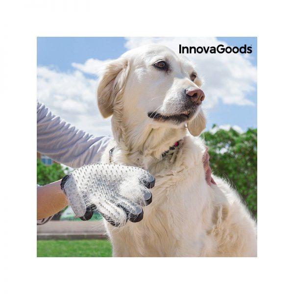 ZOOSHOP.ONLINE - Zoopreču internetveikals - Cimds dzīvnieku ķemmēšanai un masēšanai