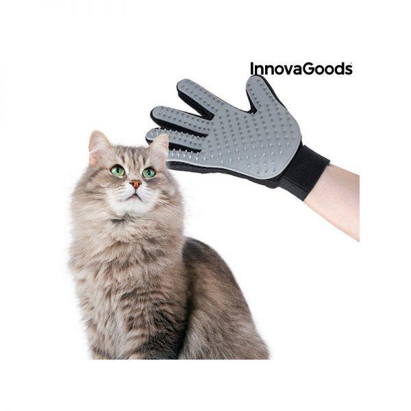ZOOSHOP.ONLINE - Интернет-магазин зоотоваров - Перчатка для расчесывания и массирования животных