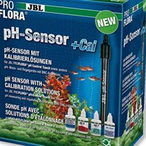 ZOOSHOP.ONLINE - Zoopreču internetveikals - JBL ProFlora pH sensors + Cal, pH elektrods ar kalibrēšanas šķidrumiem