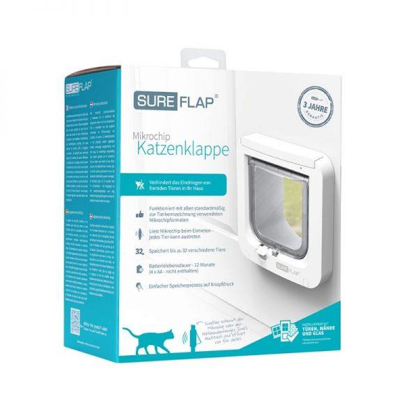 ZOOSHOP.ONLINE - Интернет-магазин зоотоваров - Sure Flap Microchip Pet Door дверь для кошек и маленьких собак