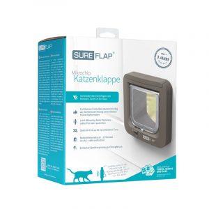 ZOOSHOP.ONLINE - Zoopreču internetveikals - SureFlap Microchip Pet Door durvis kaķiem un maziem suņiem