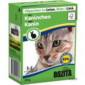 ZOOSHOP.ONLINE - Интернет-магазин зоотоваров - Bozita консервы для кошек 370 гр Крольчатина в желе x 6