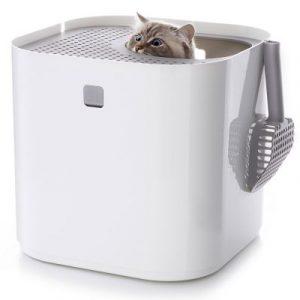 ZOOSHOP.ONLINE - Zoopreču internetveikals - Modkat tualete kaķiem BALTA