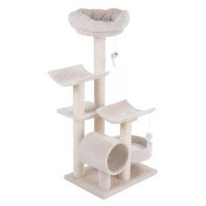 ZOOSHOP.ONLINE - Zoopreču internetveikals - Kaķu māja Penelope bēša
