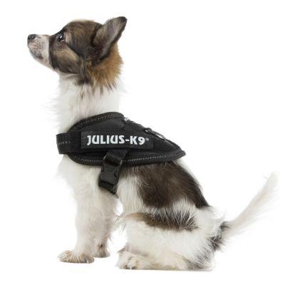 ZOOSHOP.ONLINE - Zoopreču internetveikals - JULIUS-K9 IDC iemaukti melni - izmērs 1