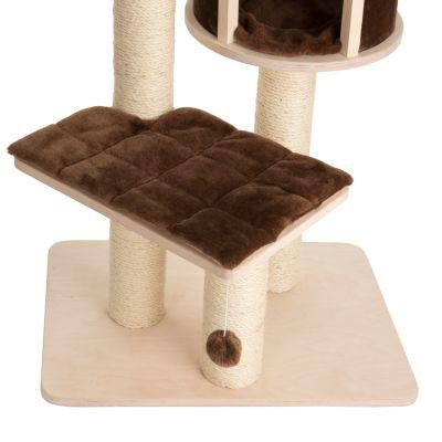 ZOOSHOP.ONLINE - Интернет-магазин зоотоваров - Кошачий дом Натуральный рай XL Компактный коричневый