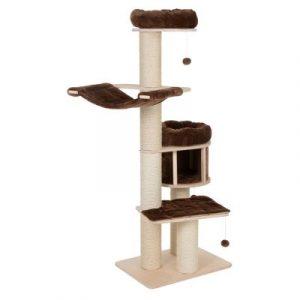 ZOOSHOP.ONLINE - Zoopreču internetveikals - Kaķu māja Natural paradiz XL Standarts brūna