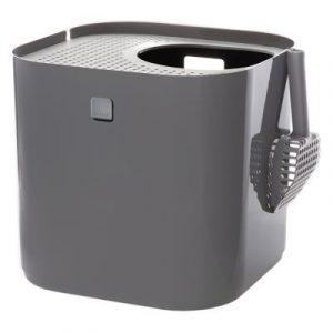 ZOOSHOP.ONLINE - Интернет-магазин зоотоваров - Modkat туалет для кошек СЕРЫЙ
