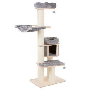 ZOOSHOP.ONLINE - Zoopreču internetveikals - Kaķu māja Natural paradiz XL Standarts pelēka