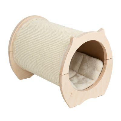 ZOOSHOP.ONLINE - Интернет-магазин зоотоваров - Когтеточка-домик для кошек туннель Natural Paradise