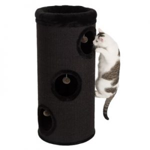 ZOOSHOP.ONLINE - Zoopreču internetveikals - Kaķu māja Diogenes L melna