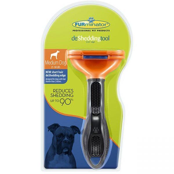 ZOOSHOP.ONLINE - Zoopreču internetveikals - Furminator īsspalvainiem vidēja izmēra suņiem