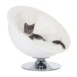 ZOOSHOP.ONLINE - Интернет-магазин зоотоваров - Лежанка для кошек и собак - белая