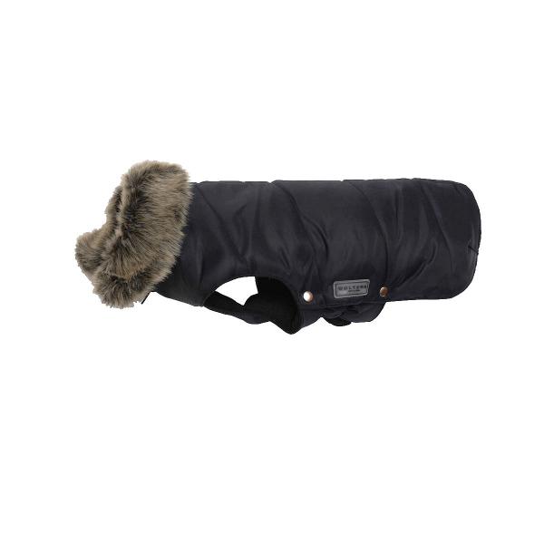 ZOOSHOP.ONLINE - Интернет-магазин зоотоваров - Парка для собак Wolters с пушистым воротником черная 42 см