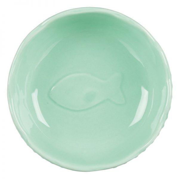 ZOOSHOP.ONLINE - Zoopreču internetveikals - Trixie keramikas trauks Fisch Motiv