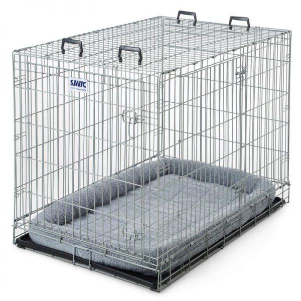 ZOOSHOP.ONLINE - Интернет-магазин зоотоваров - Металлическая клетка Savic Dog Hammerton с керамическим покрытием 118 см