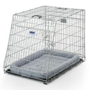 ZOOSHOP.ONLINE - Интернет-магазин зоотоваров - Металлическая клетка Savic Dog Mobile Hammerton с керамическим покрытием 76 x 53 x 61 см