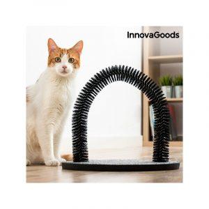 ZOOSHOP.ONLINE - Интернет-магазин зоотоваров - Когтеточка для котов с массажной аркой InnovaGoods Home Pet