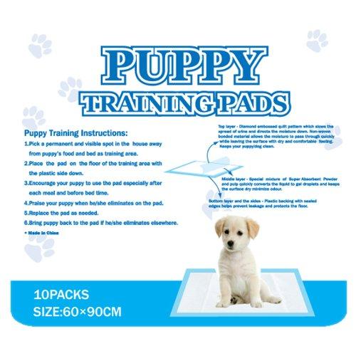 ZOOSHOP.ONLINE - Интернет-магазин зоотоваров - Антибактериальные пеленки для щенков — Puppy Training Pads 60 х 90mm 10pcs