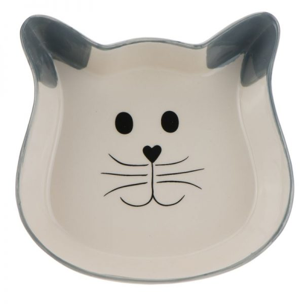 ZOOSHOP.ONLINE - Zoopreču internetveikals - Trixie keramikas trauks kaķiem, 250 ml