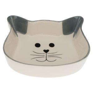 ZOOSHOP.ONLINE - Интернет-магазин зоотоваров - Керамическая миска для кошек Trixie, 250 мл