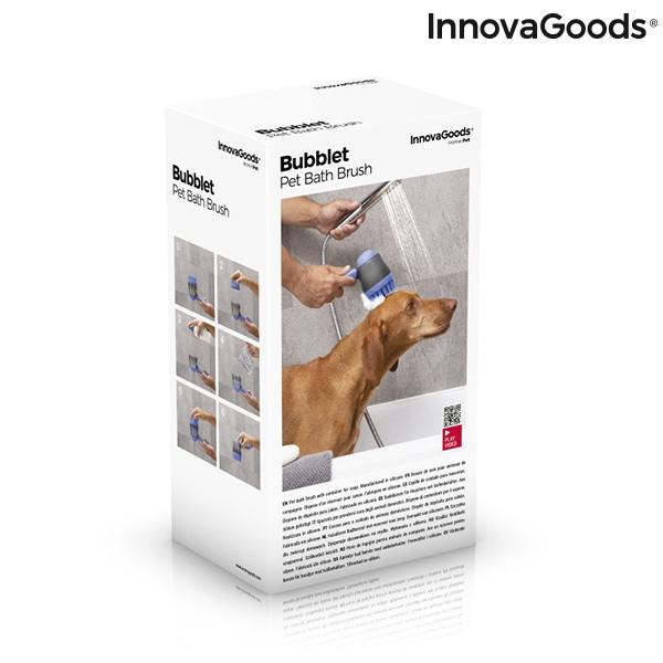 ZOOSHOP.ONLINE - Интернет-магазин зоотоваров - Щётка с резервуаром для ванны - собакам