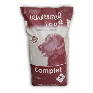 ZOOSHOP.ONLINE - Zoopreču internetveikals - Sausā barība pieaugušiem suņiem ar putnu gaļu Natural Food Complete Dog Adult 20 kg