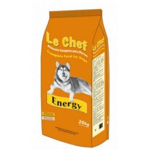 ZOOSHOP.ONLINE - Интернет-магазин зоотоваров - Сухой корм для активных собак LE CHEF Energy Dog Adult 20 кг