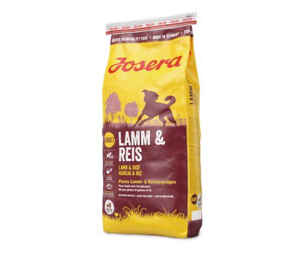 ZOOSHOP.ONLINE - Zoopreču internetveikals - Josera Lamb and Rice 15 kg