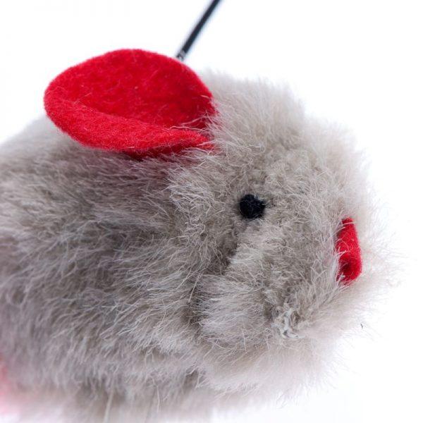 ZOOSHOP.ONLINE - Интернет-магазин зоотоваров - Игрушка для кошек мышка со звуком