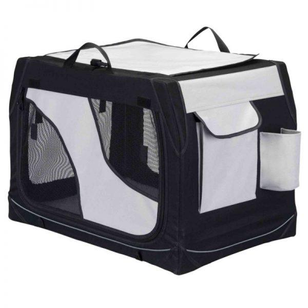 ZOOSHOP.ONLINE - Интернет-магазин зоотоваров - Trixie Vario складная тканевая переноска 91 см