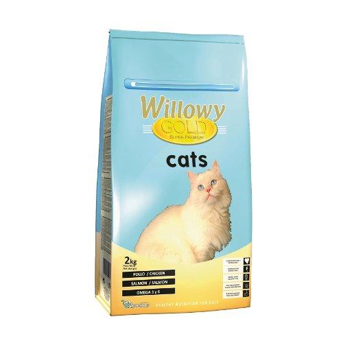 ZOOSHOP.ONLINE - Интернет-магазин зоотоваров - Сухой Корм для Взрослых Кошек с Разными Видами Мяса Willowy Gold Cat Adult 2 кг