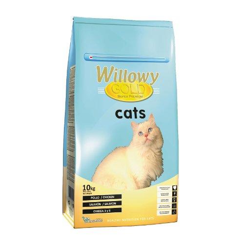 ZOOSHOP.ONLINE - Интернет-магазин зоотоваров - Сухой Корм для Взрослых Кошек с Разными Видами Мяса Willowy Gold Cat Adult 10 кг