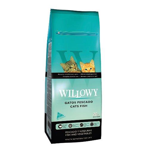 ZOOSHOP.ONLINE - Интернет-магазин зоотоваров - Сухой корм для взрослых кошек с рыбным мясом Willowy Cat Adult Fish 20 кг