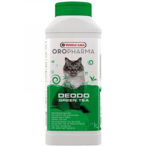 ZOOSHOP.ONLINE - Zoopreču internetveikals - Tualetes kastes aromatizētājs Versele-Laga Oropharma Deodo ar zaļās tējas smaržu