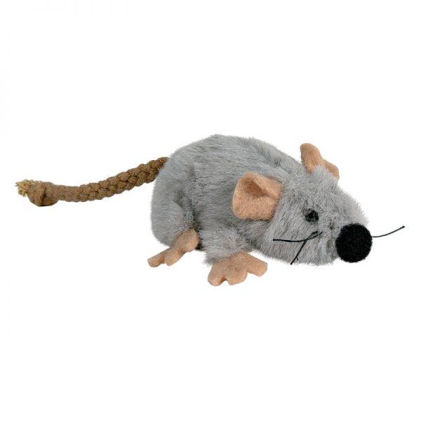 ZOOSHOP.ONLINE - Интернет-магазин зоотоваров - Игрушка для кошек мышь 12 см