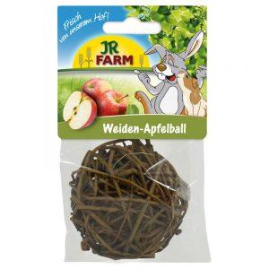 ZOOSHOP.ONLINE - Интернет-магазин зоотоваров - Беззерновой шар с лакомствами JR Farm Willow Apple Ball