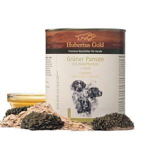 ZOOSHOP.ONLINE - Интернет-магазин зоотоваров - Консервы для собак с рубцом и зародышами пшеницы Hubertus Gold Dog Rumen & Oat flakes 6x800 гр