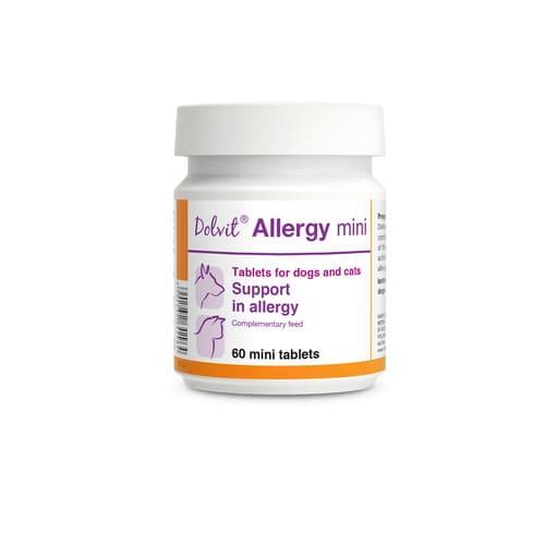 ZOOSHOP.ONLINE - Интернет-магазин зоотоваров - Пищевая добавка - Поддержка при аллергии DOLVIT Allergy Dog Cat 60 tab